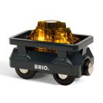 BRIO(ブリオ) ライトアップゴールドワゴン