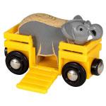 BRIO(ブリオ) ゾウとワゴン