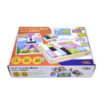 ディンギー カードつきパズル積み木楽しい世界旅行