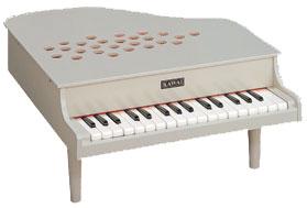河合楽器(カワイ)ミニピアノP-32(アイボリー)