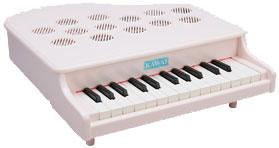 河合楽器(カワイ)ミニピアノP-25(ピンキッシュホワイト)