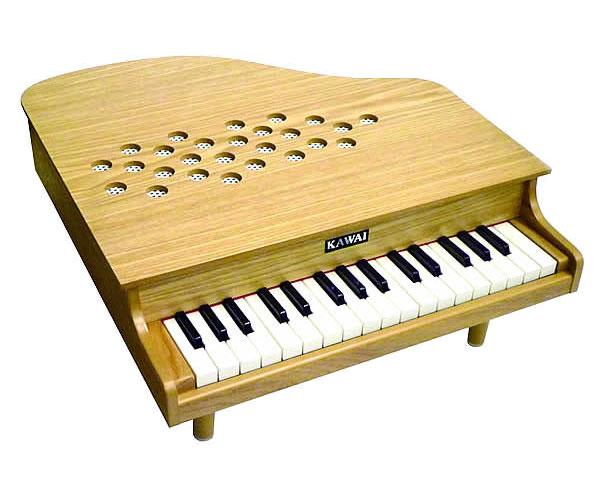 河合楽器(カワイ)ミニピアノP-32(木目)