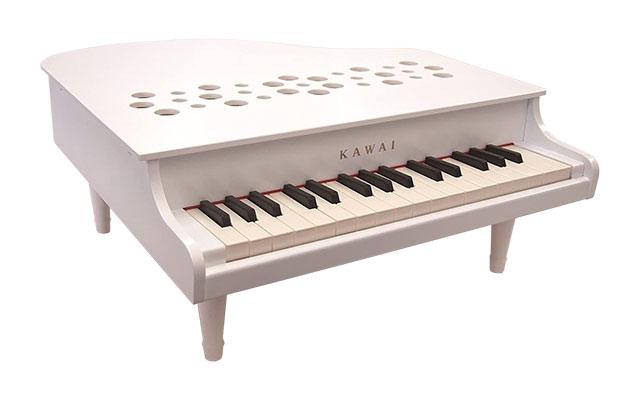 河合楽器(カワイ)ミニピアノP-32 ホワイト