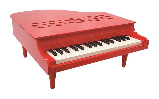 河合楽器(カワイ)ミニピアノP-32 レッド
