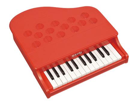 河合楽器(カワイ)ミニピアノP-25(ポピーレッド)