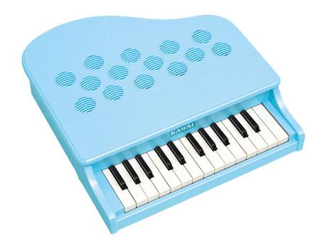 河合楽器(カワイ)ミニピアノP-25(ミントブルー)