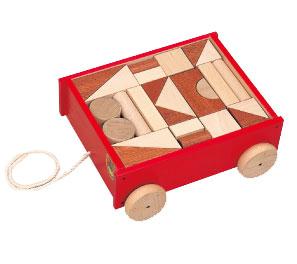 河合楽器(カワイ)引き車つみきデラックス
