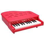 河合楽器(カワイ) ミニピアノP-25(赤)