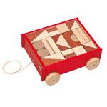 河合楽器(カワイ) 引き車つみきデラックス