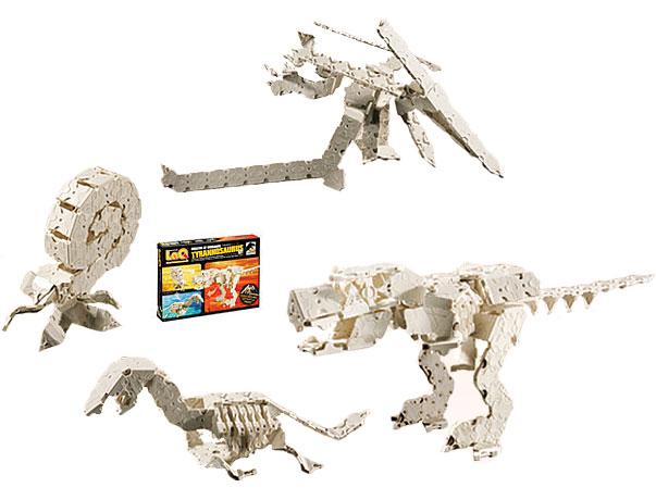 LaQ(ラキュー)恐竜骨格シリーズ ティラノサウルスセット