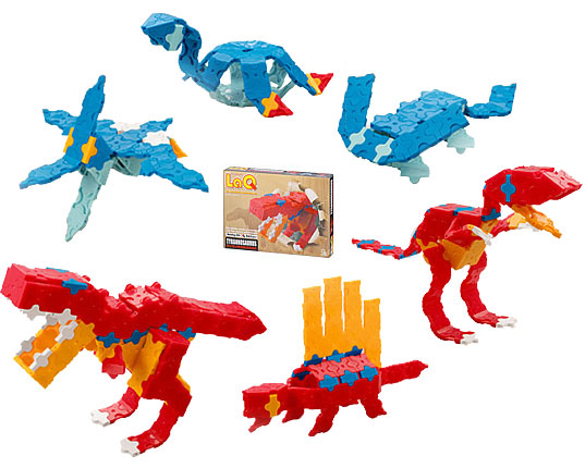 LaQ(ラキュー)ホビーキット ティラノサウルスセット