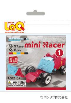 LaQ(ラキュー)ハマクロンコンストラクター ミニレーサー1
