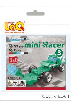 LaQ(ラキュー)ハマクロンコンストラクター ミニレーサー3