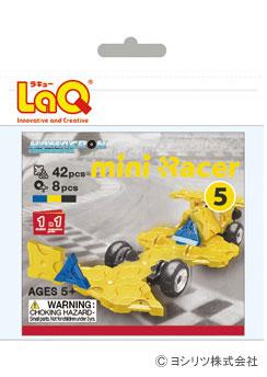 LaQ(ラキュー)ハマクロンコンストラクター ミニレーサー5