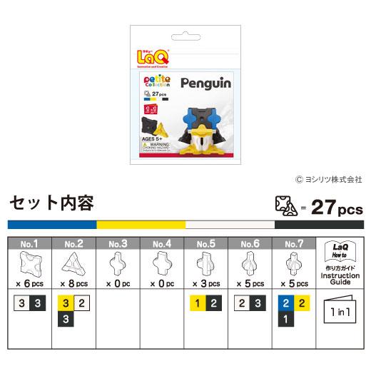 LaQ(ラキュー)プチコレクション ペンギン