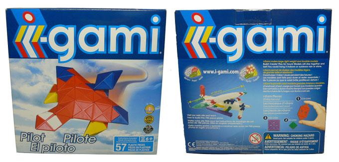i-gami(アイガミ)お試しキット(ジェット機)