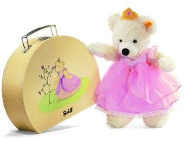 Steiff(シュタイフ)Lotte Teddy bear princess in suitcase