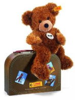 Steiff(シュタイフ)Hannes Teddy bear in suitcase