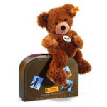 Steiff(シュタイフ) Hannes Teddy bear in suitcase