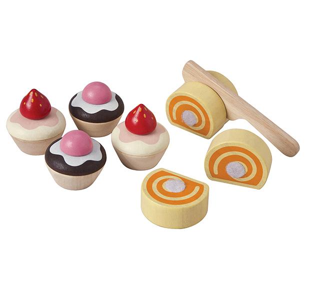 PLANTOYS(プラントイ)カップケーキとスイスロール