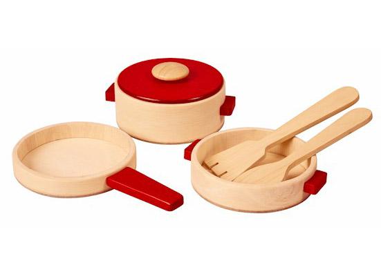 PLANTOYS(プラントイ)木製調理用具セット