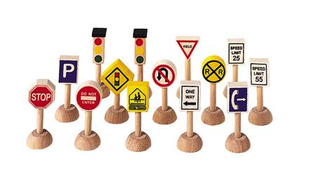 PLANTOYS(プラントイ)交通標識と信号(アメリカンタイプ)