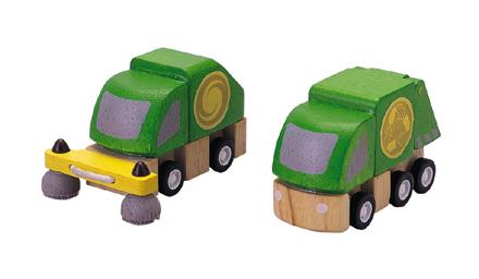 PLANTOYS(プラントイ)清掃車とごみ収集車