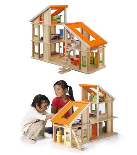 PLANTOYS(プラントイ)家具付きシャレードールハウス
