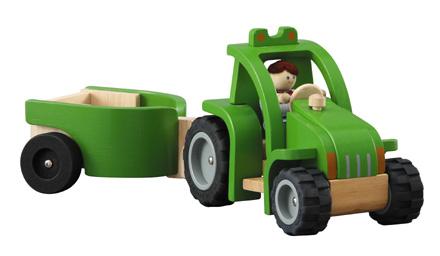 PLANTOYS(プラントイ)トラクター&トレーラー