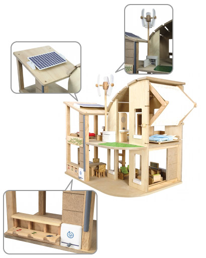 PLANTOYS(プラントイ)家具付きグリーンドールハウス