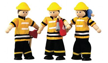 PLANTOYS(プラントイ)消防士(ドールハウス)