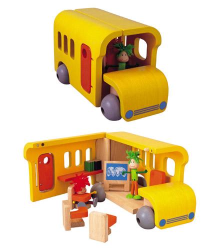 PLANTOYS(プラントイ)どこでもスクールバス