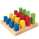 PLANTOYS(プラントイ) 幾何学ペグボード