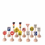 PLANTOYS(プラントイ) 交通標識と信号(アメリカンタイプ)
