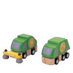 PLANTOYS(プラントイ) 清掃車とごみ収集車