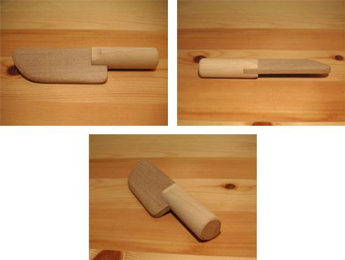 SayWoodwork(セイウッドワーク)木のキッチンナイフKN-1