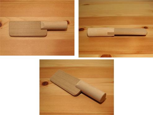 SayWoodwork(セイウッドワーク)木のキッチンナイフKN-2