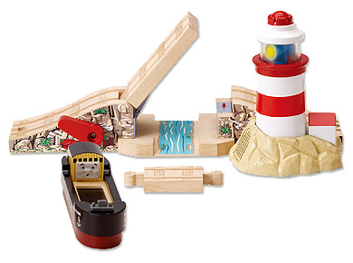 きかんしゃトーマス(ラーニングカーブ)バストロードと灯台
