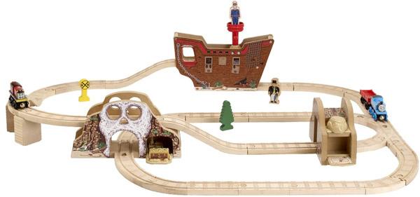 きかんしゃトーマス(ラーニングカーブ)海賊船セット