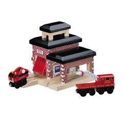 きかんしゃトーマス(ラーニングカーブ)消防署