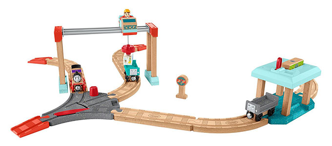 きかんしゃトーマス(マテルインターナショナル)いじわる貨車・いたずら貨車とチャーリーのクレーンセット