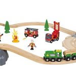 ブリオ 木のレールおもちゃ 33817「レスキューセット」